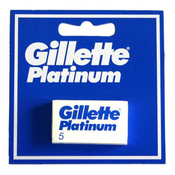 Gillette Platinum Shaving Blades (5 pcs.)