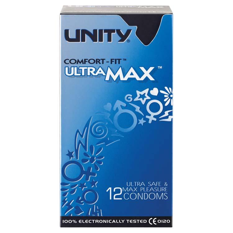 Unity Kondom ultra<br>Max (12 Einheiten)