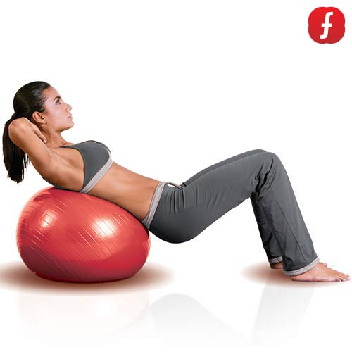Fitball Pilates Body Ball (55 cm)
