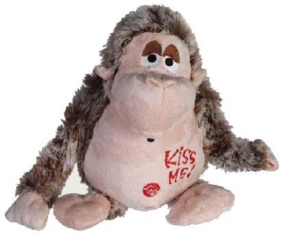 Plush Monkey with<br>Motion Sensor