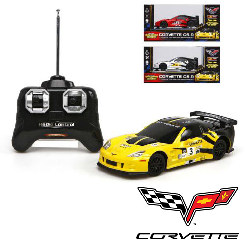 RC Remote Control<br> Car 1:24 Corvette<br>C6.R