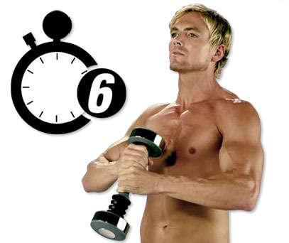 Men Shake Weight Dumbbells
