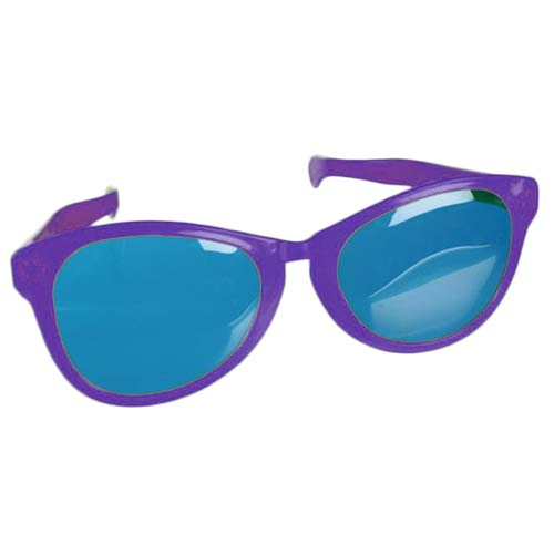 Joke Glasses Giants-Purple