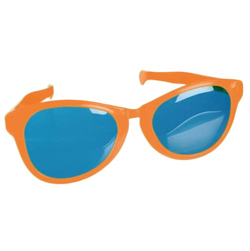 Joke Glasses Giants-Orange