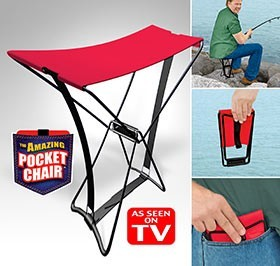Amazing Pocket Chair Folding Chair