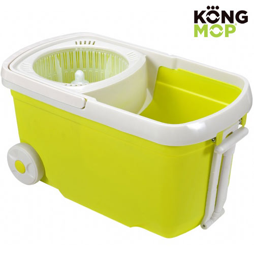 Swivel Mop and Mop<br> Bucket with Wheels<br>Kong