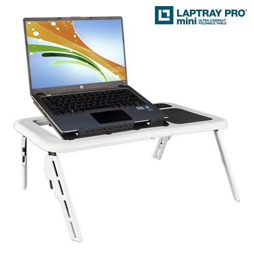 Laptop table with<br>fan Laptray Pro Mini