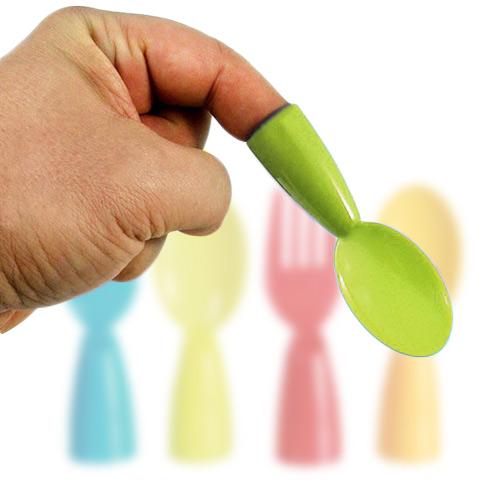 Plastic Cutlery Finger