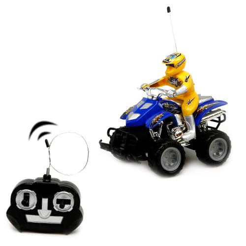 Remote Control RC<br> Moto   Super Moto<br>ATV Power-Blue