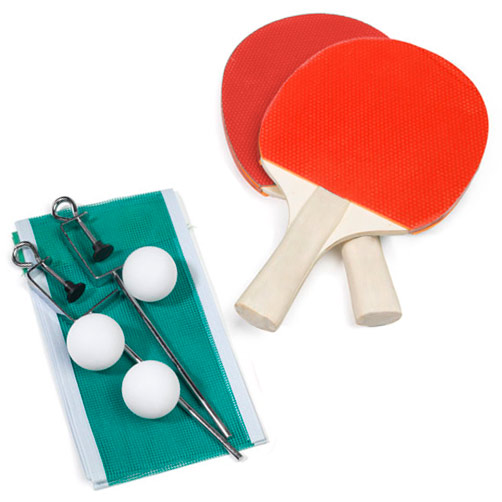 September Ping Pong Paddles FUNSTART 2 + 3 + 1 Red