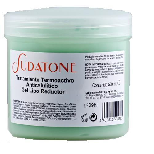 Sudatone Slimming<br> Gel 500 ml<br>Thermoaktive