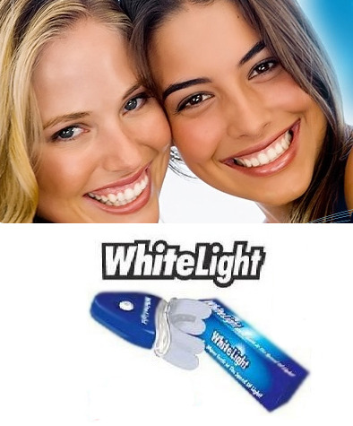 White Light Tooth Whitening