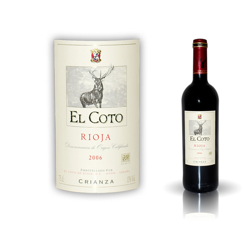 Red Wine from Rioja | Coto Crianza 75cl